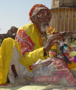 And a flute playing Baba