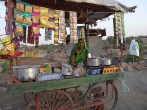 Followed by a chai from our chai wallah