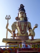 Magnificent Lord Shiva overlooking Omkareshwar